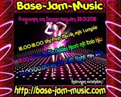 Habt ihr Lust auf gute Musik ? Party ? Spass ? Chatten und nette Leute kennen lernen ? Dann ab zu uns auf die Homepage unter http://base-jam-music.com und ab gehts go go go