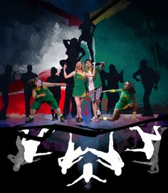 BWW Exclusive STAGE ART - BRING IT ON on Broadway! That is our Ryann on the left..
