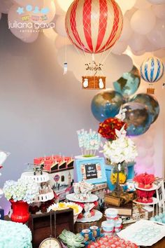 Vintage Travel Birthday Party Ideas!  See more party ideas at CatchMyParty.com!