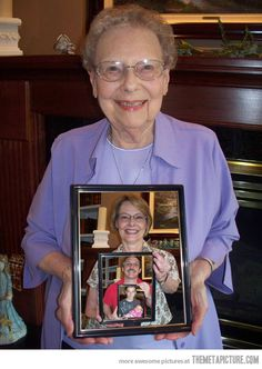 if you can't all be in the same place at the same time ~ five generations in one picture…