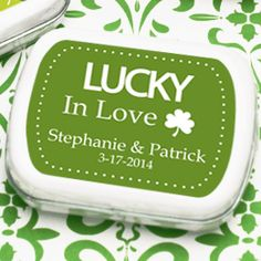 lucky----cute in 7 years for another St. patty day wedding