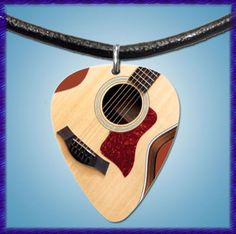 Taylor Acoustic Guitar Necklace - $6.99 with free shipping!
