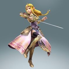 Zelda - Hyrule Warriors-New Zelda game you can play as someone other than Link. Should be interesting... :)