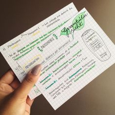 This handwriting is so cute! | 25 Studying Photos That Will Make You Want To Do Well In School For Once