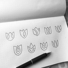 4,834 отметок «Нравится», 16 комментариев — DesignTalks (@thedesigntalks) в Instagram: «Lotus logo sketches by @yogaperdana7 Follow us to get best new designs everyday! #dribbble…»