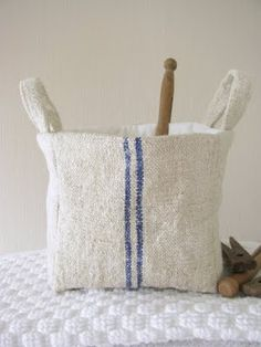 Basket - This basket could also be used to hold clothes pins.