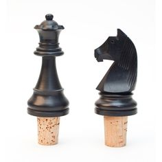 Use your old chess set for creative projects. Get a new one at www.chessbaron.ca