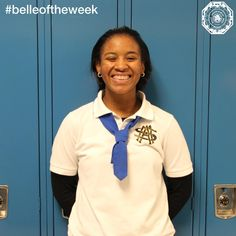 "Kayla Harley-Porche, Blue Tie '20, won a Lions Club Student Speech Contest for the Southern Region Zone B on Saturday. The topic of the speech was ""Integrity and Civility Play What Role in Today's Society"". We are proud of Kayla and all of our Belles who have been working on their public speaking and communication skills with Toastmasters International!"