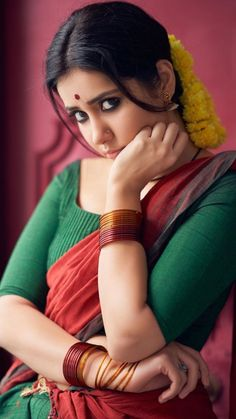 Most Beautiful Indian Actress, Beautiful Asian Women, Indian Film Actress, Indian Actresses, Cute Girl Image, Hot Poses, Village Girl, South Indian Film, Indian Beauty Saree