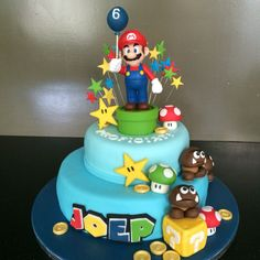 Super-Mario taart