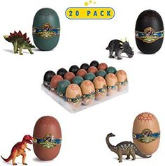 20 Dinosaur Puzzles in Dino Eggs - Jurassic Egg with Dinosaur Figures- Dinosaurs Toys for Kids Party Favors and Dinosaur Party, Easter Basket Fillers Easter Eggs Toys for Boys Dinosaur Toys For Kids, Dinosaur Puzzles, The Good Dinosaur, Toys For Boys, Dinosaurs, Kids Boys, Dinosaur Party Favors, Kid Party Favors, Dinosaur Birthday