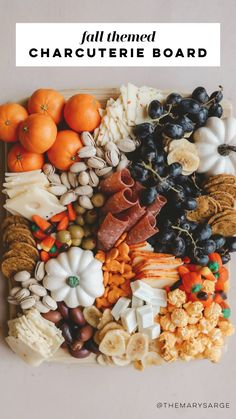 Party Snacks, Appetizers For Party, Appetizer Recipes, Halloween Appetizers, Charcuterie Recipes, Charcuterie And Cheese Board, Cheese Boards, Thanksgiving Recipes, Fall Recipes