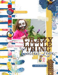 Face Paint using Crazy Little Thing by Lynn Grieveson Designs at The Lilypad