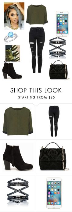 """Young fashion #22"" by demacracy ❤ liked on Polyvore featuring Topshop, Nly Shoes, Givenchy, Eva Fehren, NARS Cosmetics and Amanda Rose Collection"
