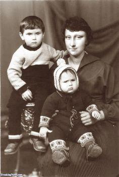 Old Mona Lisa Photo