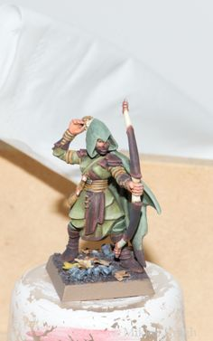 Wood elf glade guard painting guide