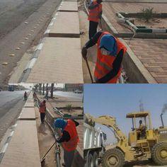 بلدية #القيصومة : تكثيف العمل وتجهيز المعدات والآليات استعدادا لموسم الامطار .