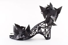 Cutting Edge Cinderella Shoes Are 3D Printed Out of Nylon : TreeHugger