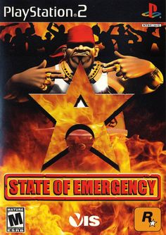 State of Emergency Sony Playstation 2 Game