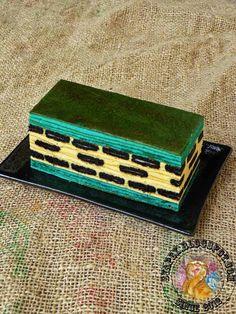 Kek Lapis Keju Oreo Recipes Using Cake Mix, Layer Cake Recipes, Layer Cakes, Sponge Cake Roll, Lapis Legit, Resep Cake, Marble Cake, Confectionery, Oreo