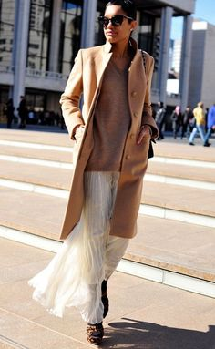 #camel #cream #ivory structured + flowy #fall #winter #layering