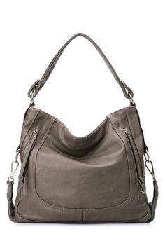 2fc0289b704 Grey Tote Trendy Fashion, Fashion Bags, Shoulder Handbags, Shoulder Bags,  Stylish Handbags