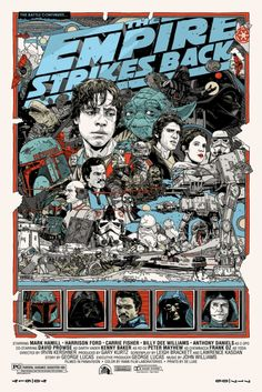 Mondo: The Archive | Tyler Stout - The Empire Strikes Back, 2010