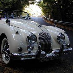 One of the most elegant car ever produced, the Jaguar convertible Eines der elegantesten Autos aller Zeiten, das Jaguar Cabrio # Jahre Classy Cars, Sexy Cars, Vintage Cars, Antique Cars, Vintage Style, Porsche, Automobile, Jaguar Cars, Cars Motorcycles