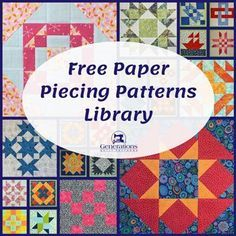 Unique Free Paper Pieced Quilt Patterns Free Paper Pieced Quilt Patterns - This Unique Free Paper Pieced Quilt Patterns gallery was upload on March, 7 2020 by admin. Here latest Free Paper P. Free Paper Piecing Patterns, Patchwork Quilt Patterns, Beginner Quilt Patterns, Pattern Paper, Paper Patterns, Quilting Patterns, Hexagon Quilt, Quilting Tutorials, Tatting Patterns
