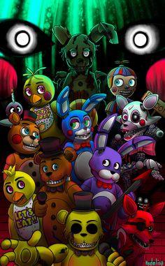 Fnaf fanart n.n i looove that game!! i can't wait for the fourth one! hope you like it!!