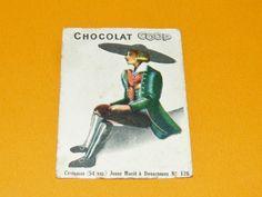 CHROMO CHOCOLATS COOP 1932 COSTUMES JEUNE Marié DOUARNENEZ BRETAGNE BREIZH   Collections, Objets publicitaires, Chromos, découpis   eBay!