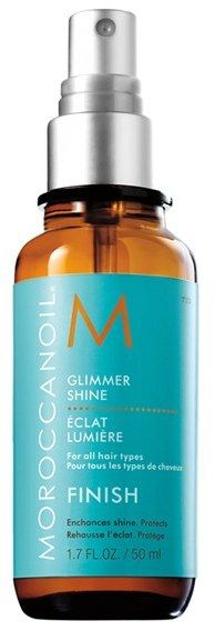 Buy Moroccanoil® Glimmer Shine for the perfect summer sleek ponytail.