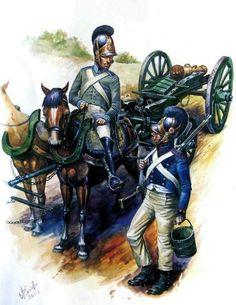 Artillería del Ducado de Baden durante las Guerras Napoleónicas. http://www.elgrancapitan.org/foro/viewtopic.php?f=21&t=11680&p=899656#p899396