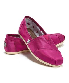 Another great find on #zulily! Pink Rowan Classics by TOMS #zulilyfinds