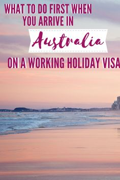 Working Holiday Visa, Working Holidays, Travel Advice, Travel Guides, Travel Tips, Opening A Bank Account, Job Opening, Visit Australia, Australia Travel