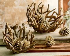 The Cool Casa: Cool Buy: Driftwood Bowls @ Seaside Inspired