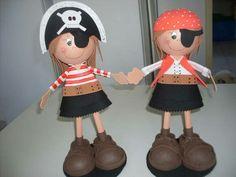 Niñas piratas