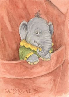 The World of James Browne I always keep an elephant in my pocket...just in case. Sweet dreams everyone! ~JB