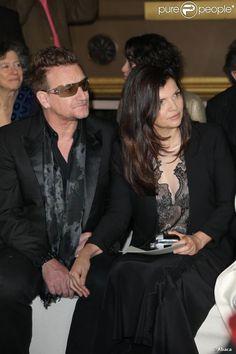 A more recent picture of Bono & Ali Hewson  #theman #U2