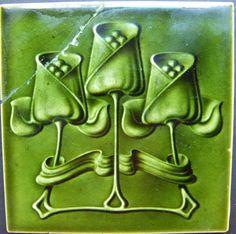 West Side Art Tiles -4478n378p0 - English Tile>