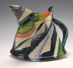 Paul Jackson   Jug: Abstract Series  Earthenware