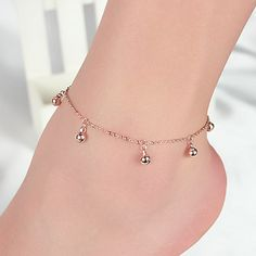 New Fashion  little bell  gold anklet For Women Exquisite wedding jewelry gift   JK068 //Price: $1.54 & FREE Shipping //     #hairextension #style #beauty #woman #love