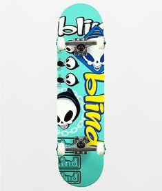 Blind Skateboards, Skateboards For Sale, Complete Skateboards, Skateboard Helmet, Skateboard Art, Street Skater, Dangerous Sports, Teal Background, Show Us