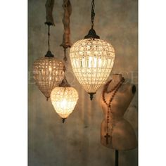 antique reproduction beaded chandelier hand strung in turkey made from glass beads and a beaded lighting