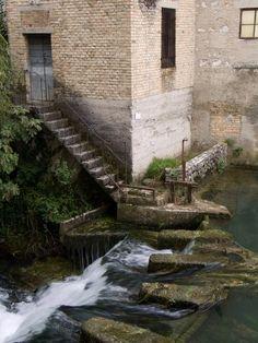 Sacile, Pordenone , Italy Aviano Italy, Italy Travel, Italy Trip, Sicily Italy, Stairways, Travel Pictures, Venice, Waterfall, Europe