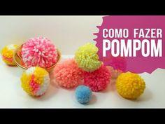 5 maneiras de fazer pompom de lã - SIMPLICHIQUE - YouTube