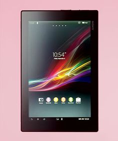 Travel Gadgets: Sony Xperia Tablet Z