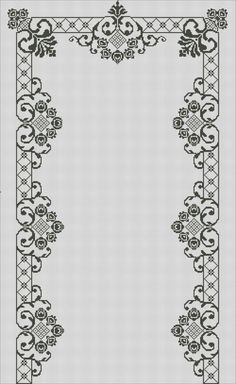 1 million+ Stunning Free Images to Use Anywhere Cross Stitch Borders, Cross Stitch Flowers, Cross Stitch Patterns, Cross Stitch Embroidery, Embroidery Patterns, Hand Embroidery, Crochet Cross, Filet Crochet, Palestinian Embroidery