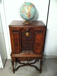 Antique 1920's ATWATER KENT RADIO 60 - Console Dresser Model - Super Rare And Mint. $999.99, via Etsy.