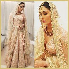 Kareena Kapoor Khan at Vikram Phadnis, Shop Qatar, MyFashgram Indian Bridal Lehenga, Red Lehenga, Lehenga Choli, Bridal Outfits, Bridal Dresses, Bollywood Fashion, Bollywood Style, Bollywood Actress, Vikram Phadnis
